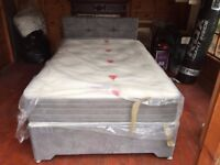 Superb Double Bed Small Double with Pocket Spring Mattress UK Made