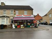 Large Shop with 2 Bedroom flat-