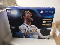 PS4 1TB Bundle with FIFA 18 SEALED NEW