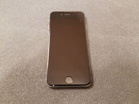 APPLE IPHONE 6 16GB GREY SIMFREE COMES WITH CHARGER AND THREE MONTHS WARRANTY**FREE DEILVERY****