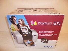 EPSON PICTURE MATE 500 PERSONAL PHOTO LAB PRINTER