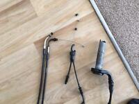 ZX 10 R 2 throttle cables 2 clutch cables
