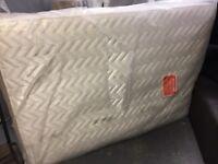 4 ft 6 double mattress new