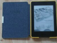 Kindle white paper still new bought in America with case