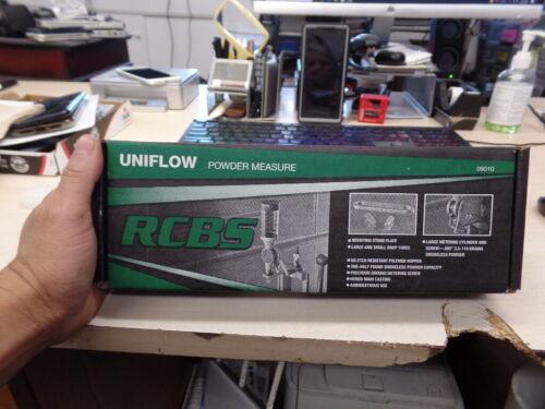 Brand New RCBS Uniflow Powder Measure Large Precision Ground Steel RCBS-9010