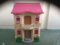 Lovely dolls house for a little lady.