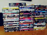 Variety of DVDs. 70 in total.