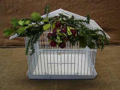 Vintage Bird Cage > Old Antique Shabby Unique Design