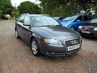 2005'55 AUDI A4 AVANT 1.9 TDi MANUAL--LONG MOT--122K MILES-