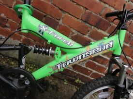 Boys Green Townsend Bike
