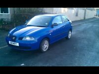 Seat Ibiza 3 door hatch with private plate