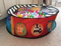 Ball pool with over 200 balls