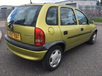 2000 V VAUXHALL CORSA 1.2 CLUB 5 DR HATCHBACK VERY LOW MILEAGE
