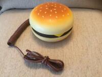 Novelty Hamburger Phone
