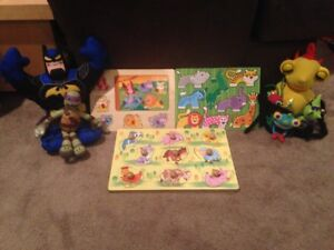 Toddler puzzles and toys