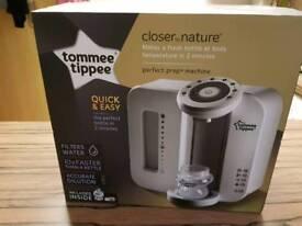 Tommee Tippee bottle prep machine