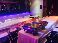 Chafing Dishes, Tables & Chairs Hire in Bromley