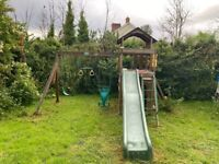 Kids garden play equipment!