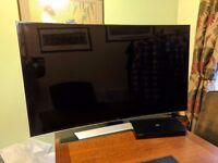 "Samsung UE55HU8500 55"" Curved 3D 4K TV + 3D Blu-Ray Player + Accessories"