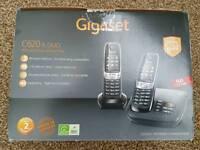 Gigaset answer machine twin phones