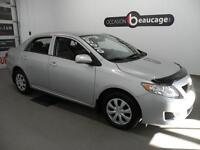 2010 Toyota Corolla / CE / DEMARREUR A DISTANCE / A/C / ENTREE A