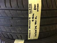 215/55/18 99V XL MICHELIN PRIMACY 3 TYRE