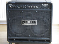 Fender Rumble 350 bass amplifier - in great condition with user manual; make your bass outstanding!