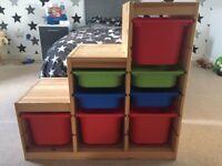 IKEA Trofast Storage Unit - Pine