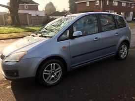 Ford C-max 1.8 16v Zetec 67000 miles exceptional clean car throughout