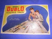 Hornby Dubl0 electric trainset