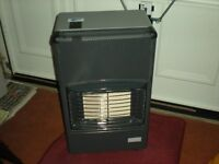 gas heater with two bottles