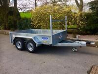 Trailer twin wheel dale kane 8x5 general purpose builders trailer
