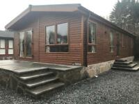 Log cabin Auchterarder Scotland