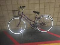 Classic Rayleigh ladies bike soft saddle