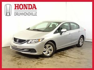 2013 Honda Civic LX +  BLUETOOTH +  REG. VITESSE +  A/C+++