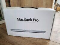 Boxed Apple MacBook Pro 13 inch Core i5