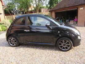 2015 - Fiat 500S, 2 years old with only 8,151 miles, low price for quick sale as moving abroad