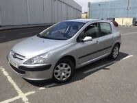 2001 PEUGEOT 307 1.6 WITH MOT VERY CLEAN CAR INSIDE AND OUT DRIVES PERFECT