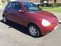 2005 Ford KA, 1.3 Petrol, only 94.000 miles, long MOT, SH, very economic for insurance and Road Tax!