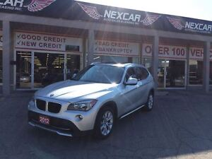 2012 BMW X1 AUTO*AWD LEATHER PANORAMIC ROOF 113K