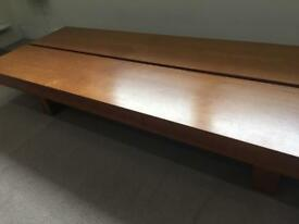 Japanese Style Low Coffee / Dining Table | Wood | Beautiful
