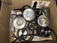 Decking lights / Stainless Steel walkover Uplights