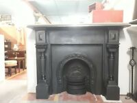 victorian slate fire surrounds