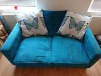 2 Seater DFS Butterfly Sofa