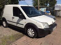 Trade Van to Clear 2004 Ford Transit Connect White Tdci 170k LONG MOT 2017 ready to work