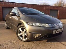 Honda Civic 1.8 i-VTEC ES Hatchback 5dr FSH+LONG MOT+PAN ROOF RING NOW FOR MORE INFO 07735447270