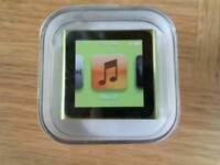 Brand new iPod nano 6th gen 8GB green - SOLD