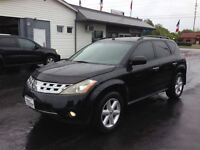 2004 Nissan Murano BLACK LEATHER LOADED CLEAN !!