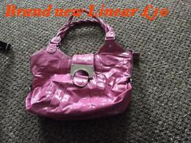 Pink Linear Bag Brand new