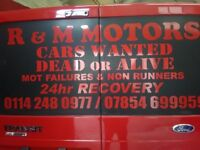 CASH PAID UPTO £250 MOT FAILURES AND SCRAP CARS! COLLECTED! PLEASE CALL 07854699959